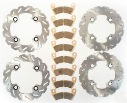 2013 Polaris Rzr Xp 900 Jagged X Edition Front And Rear Riptide Brake Rotors Pads