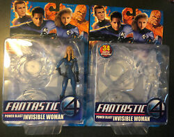 New Marvel Fantastic Four Movie Power Power Blast Invisible Woman Figure A52