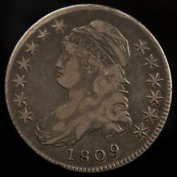 1809 Capped Bust Half Dollar -- Xf Condition