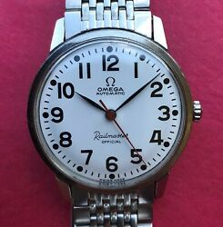 1960s Omega Railmaster Official- Railroad Cal.550 Ref.165.002 Serviced Free Ship