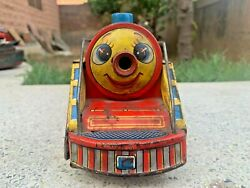 1960's Vintage Mountain Special 3671 Tin Toy Electric Train Set-made In Japan