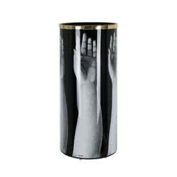 Fornasetti Mani Hand Reaching Umbrella Stand Black And White - Italy New