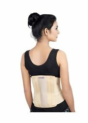 Back Brace Support Belt - Lower Back Pain Relief For Herniated Disc, Sciatica