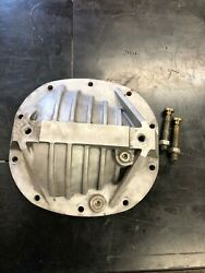 Summit Racing Gm 7.5 7.625 Differential Rear End Cover Cast Aluminum 10 Bolt