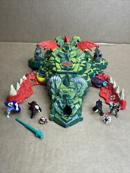 1991 Bluebird Toys Mighty Max Storms Dragon Island Action Figure Play Set 99