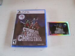 Cthulhu Saves Christmas Sony Playstation 5. New + Card 180. Limited Run. Ps5.