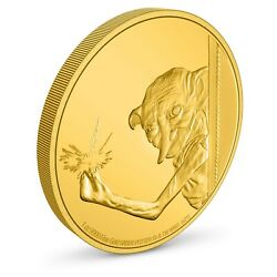 Niue - 2021 - 1 Oz Gold Proof Coin - Harry Potter - Dobby The House Elf