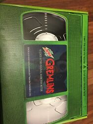 Gremlins Gizmo Limited Edition Mountain Dew Collector Set Promo New Rare