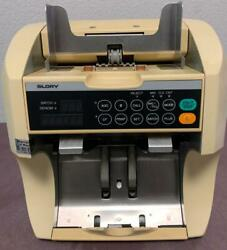Glory Gfr-s80 Currency Bill Counter Sorter Counterfeit Detection New 100 And 50