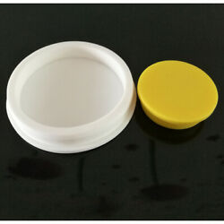 White T-shaped Silicone Plug Blanking Hole Sealing Rubber Grommets 101.5-201.5mm