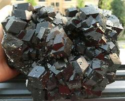 4700g New Find Raw Natural Garnet Crystal Specimens From Inner Mongolia B229