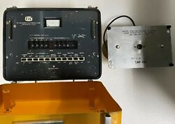 Tel-instruments Tic T-24a Tic Dme Test Set With Tap-105 Coupler