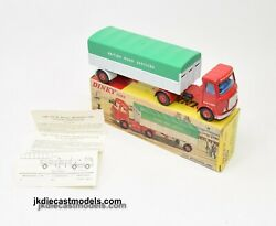 Dinky Toys 914 Aec And039british Road Servicesand039 Rare Blue Interior Virtually Mint/b