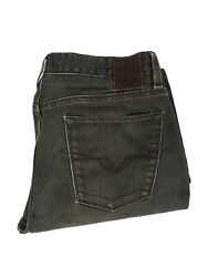 Guess Jeans Lincoln Slim Straight 34x28 Denim Jeans Brown