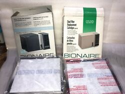 Bionaire Rrplacement Cartidges For Models F-150/150s150w/155 Two Boxes 8filters