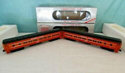 Williams O Bachmann 2 Southern Pacific Madison 72 Ft Pullman Cars, Lighted