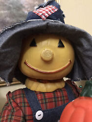Halloween Telco 2 Ft Animated Motionette Scarecrow