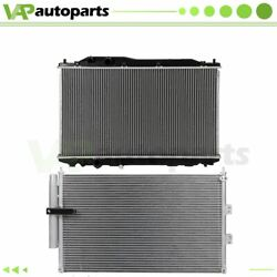 For 2006-2011 Acura Csx Civic Aluminum Rdiator And Condenser Cooling Assembly