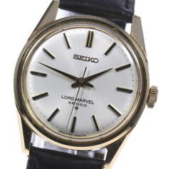 Seiko Road Marvel 36000 Antique Silver Dial Hand Winding Menand039s Watch_618823