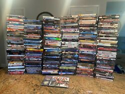 Lot Of 275 Used Dvds Assorted Genre Movies Tv Shows 275-bulk Dvd Lot