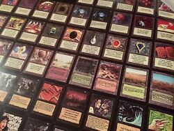 Mtg Alpha And Beta Wotc 1993 Licensed Poster, Charity Fellowship Sheets W/ Manual