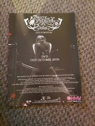 Abc48 Advert/poster 11x8 Bullet For My Valentine The Poison Live At Brixton