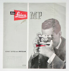 Leica Mp Brochure ........... Extremely Rare
