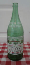 Wishing Well 30 Oz Ginger Ale National Dry London Ontario Green Bottle