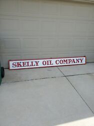 Skelly Advertising Sign