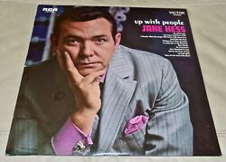 Up With People By Jake Hess Vinyl Lp, 1969 Usa Sealed