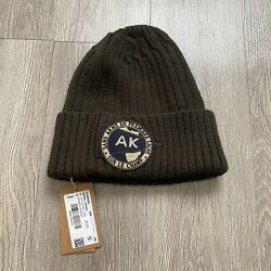 A.p.c. X Knit Beanie Olive Green 2014 Nwt Rare Vintage Sold Out Yeezy Mens West