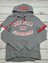 Victoria Secret Pink How Firm Thy Friendship Hoodie Small T1