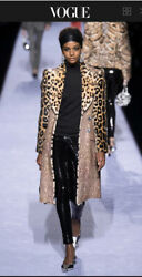 Tom Ford Patchwork Fur Coat In Palepink -jacket-with Tags- Rrp10730 Aud