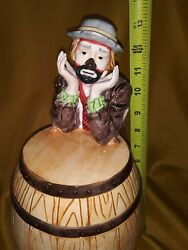 The Emmett Kelly Jr Collection Exclusively From Flambro Cookie Jar