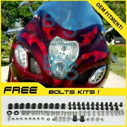 Airbrushed Fairing Bodywork Complete Fit Gsx-r1300 Hayabusa 97-07 97 E6