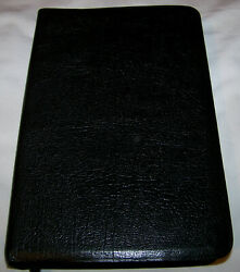 The Ryrie Study Bible Kjv Moody Press 1978 Black Cowhide Bonded Leather