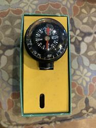 Nos 1959 Taylor Navigator Compass For Highway Or Waterway Self-illuminated 2958