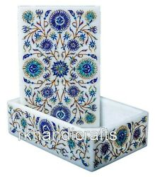 6 X 4 Inches Marble Jewelry Box Beautiful Design Watch Box Best Gift For Mother