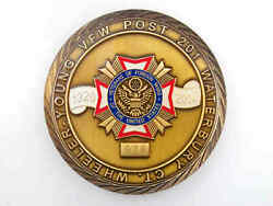 Young Vfw Post 201 Waterbury 90 Years Serving Veterans Challenge Coin