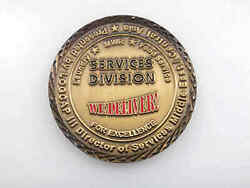 Logcap Iii Services Divsision Middle East I Central Asia Challenge Coin