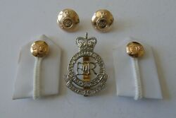 Royal Military Academy Sandhurst Cap Badge/buttons And Rmas Gorgets