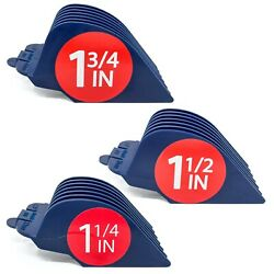 Clipquik Clipper Guards 1.75 Inch 1.5 Inch 1.25 Inch 14 12 10 Fits Most Wahl
