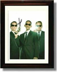 Framed Will Smith Autograph Promo Print - Men In Black