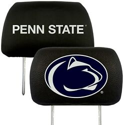 Penn State Nittany Lions 2-pack Auto Car Truck Embroidered Headrest Covers