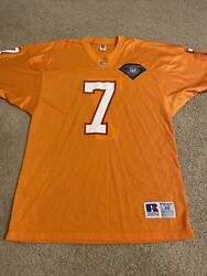 Vintage Russell Tampa Bay Buccaneers Jersey 48 Made In The Usa 75th Patch Fl