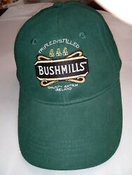 Bushmill's Triple Distilled Alcohol Advertising Snapback Hat First