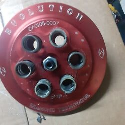 Evolution Industries Stage One Diamond Terminator Pressure Plate For Harley, Or
