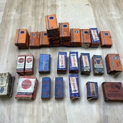 Lot Of Nos Automotive Brushes And Ignition Parts Echlin Auto-lite Niehoff
