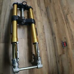 2013 Triumph Speed Triple R Abs Adjustable Center Complete Front Oem Complete
