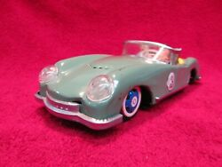 Antique Stamped Tin Motor Toy Sports Car